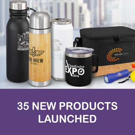 35 New Promotional Products