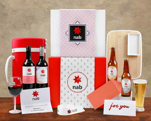 Christmas Hamper Branding Options