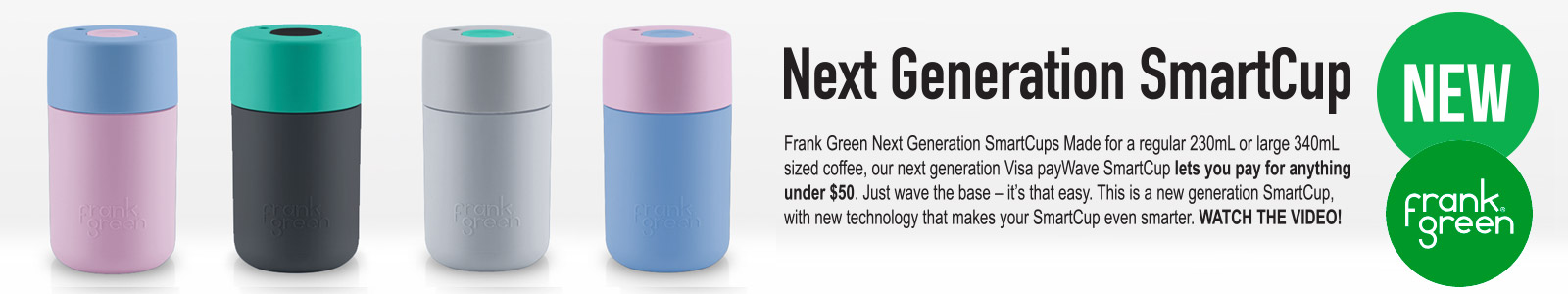 Next Generation SmartCups
