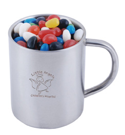 Jelly Beans in Mug Personalised Candy
