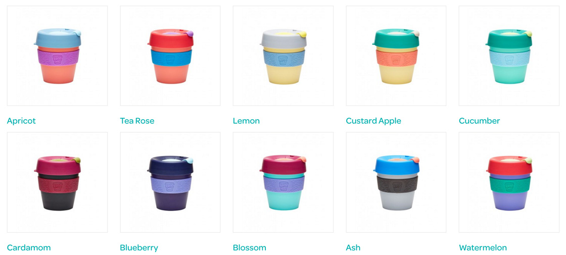 KeepCup Colours