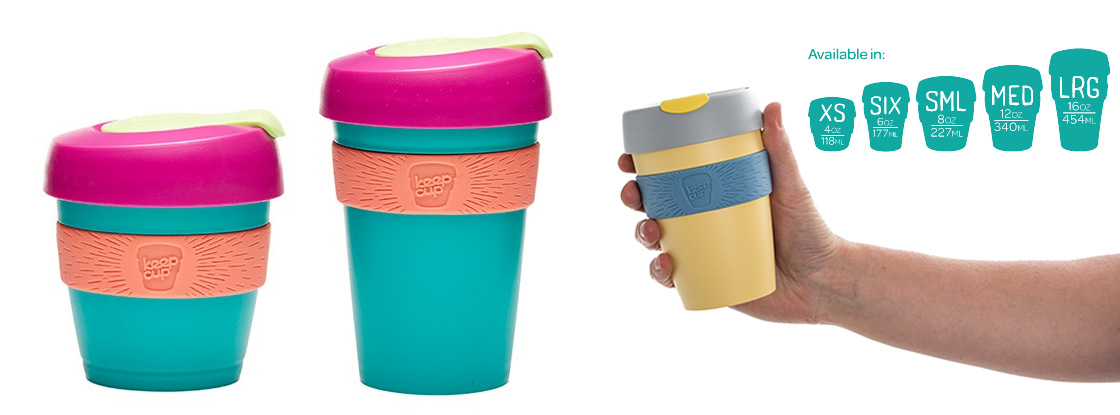 KeepCup Sizes