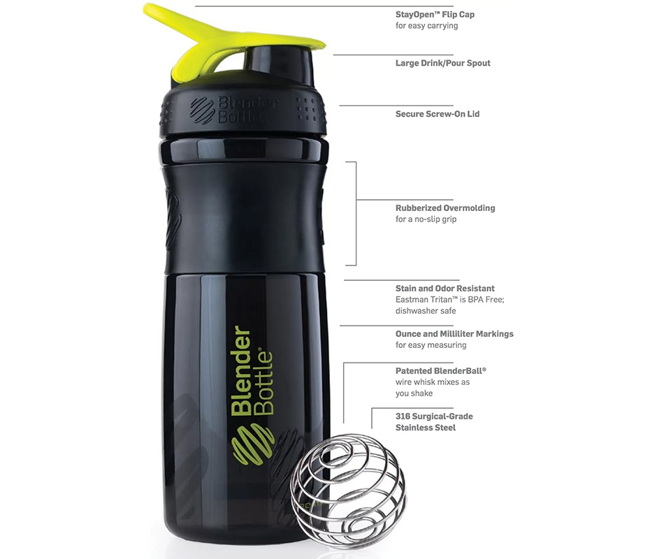 Shaker Promotional Drink Bottles