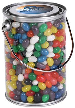 Tin of Jelly Beans Personalised Candy